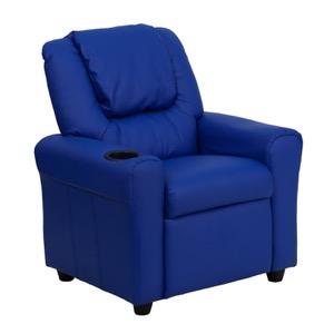 Blue kids recliner