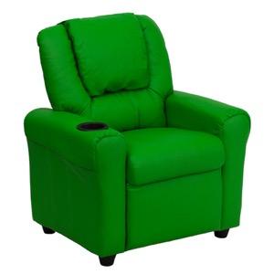 Green kids recliner