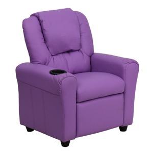 Lavender kids recliner