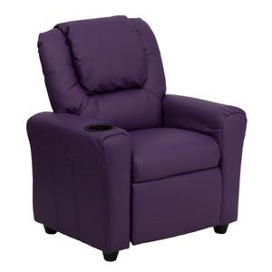 Purple kids recliner