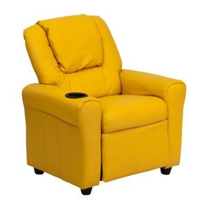 Yellow kids recliner