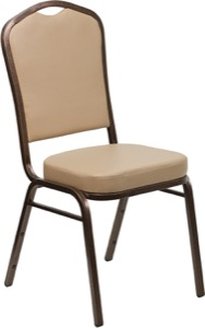 Coppervein, Tan banquet chair