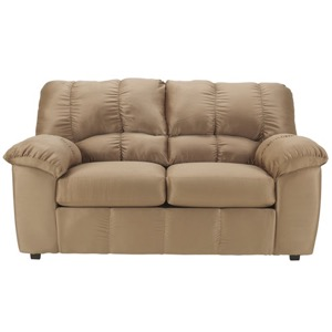 Mocha loveseat