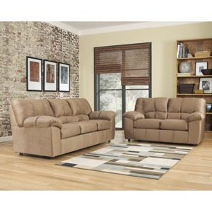 Mocha living room set