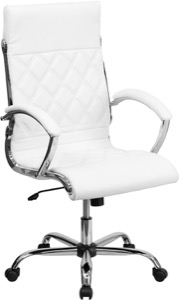 bonded leather office chair