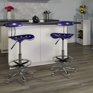 Violet drafting stool