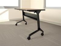 "Mayline Flip-N-Go Training Table - LF1848H - 18"" x 48"" - HPL Surface"