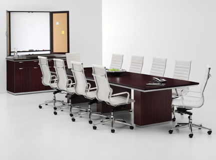 DMI Pimlico Conference Table Expandable - Expanding conference table
