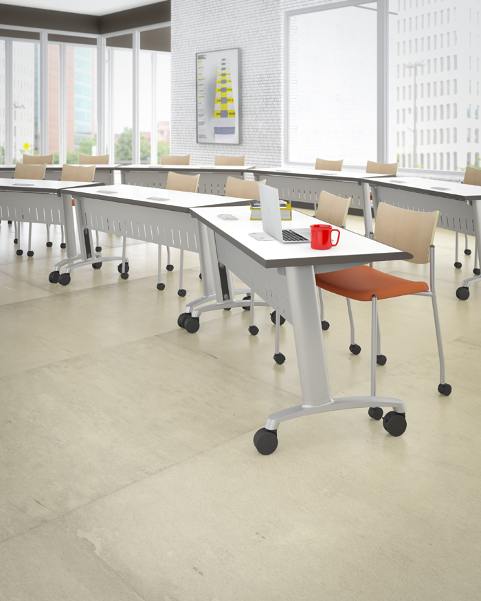 ABCO Z Series Classroom And Training Center Tables - Abco furniture