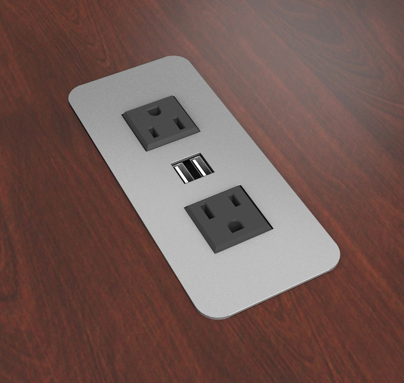 Merveilleux Conference Table   Electric Power U0026 USB Charging Modules
