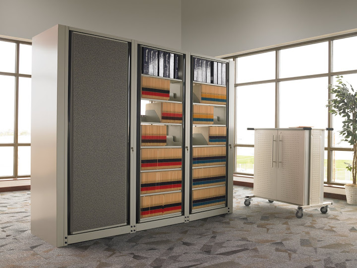 High Density File Cabinets Storage Systems