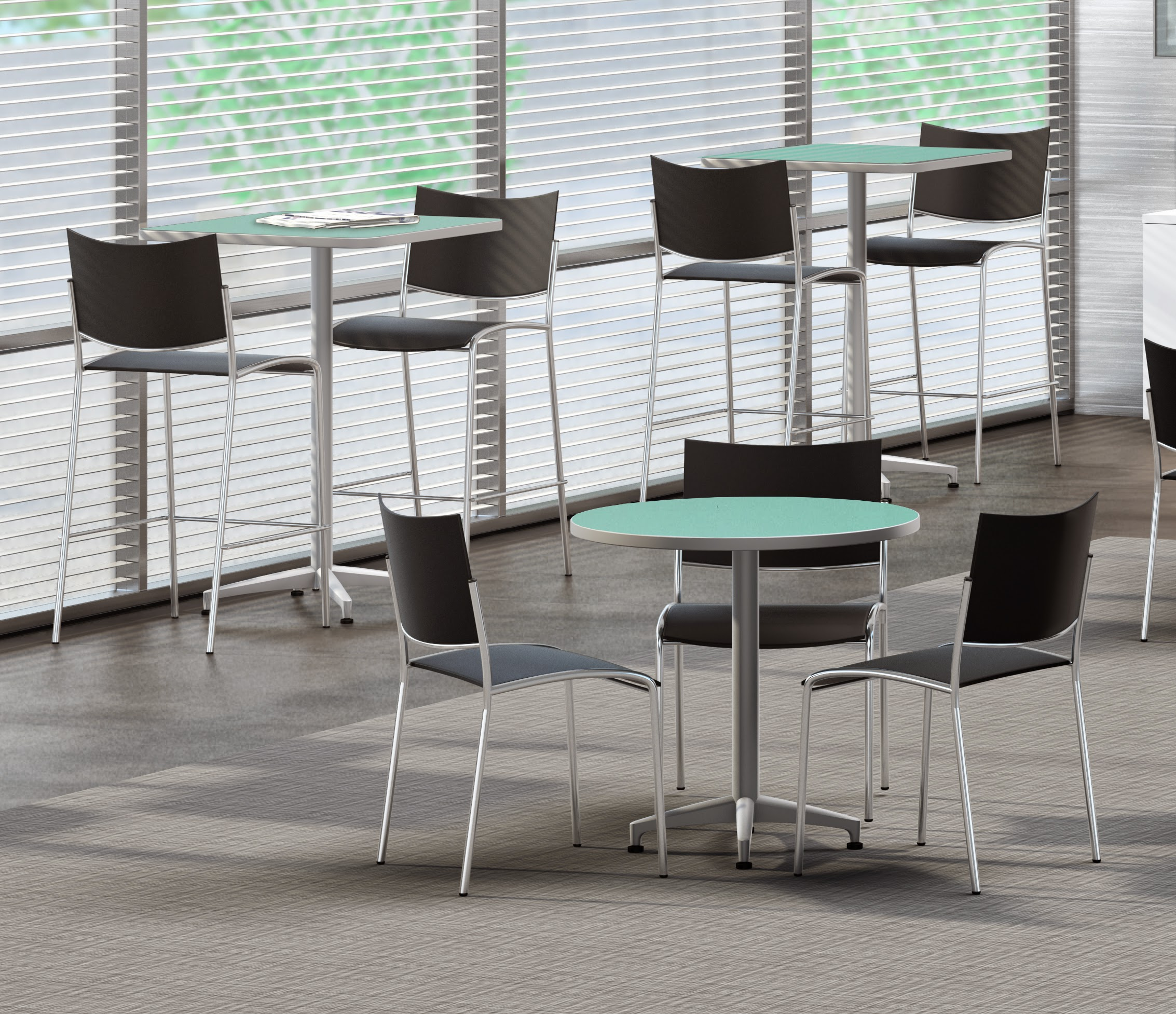 Mayline Break Room Tables