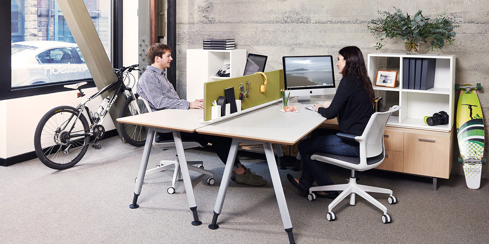 Modern Modular Office Furniture modern office furniture - fusion - a comprehensive offering of