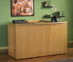 Mayline Luminary Reception Desks