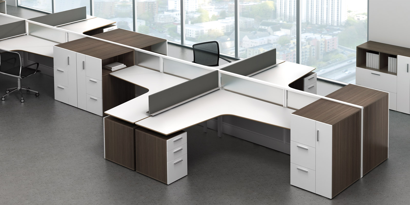 wow watson m2 office furniture enhance your open office designs. Black Bedroom Furniture Sets. Home Design Ideas
