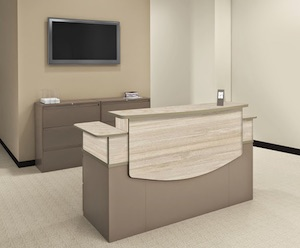CSII Reception Desks