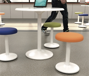 OFM Orbit Tables with Active and Static Stools