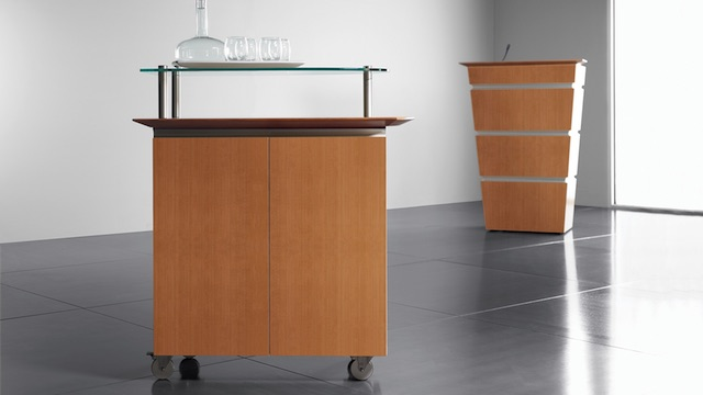 OFS Launch Serving Cart and Lectern