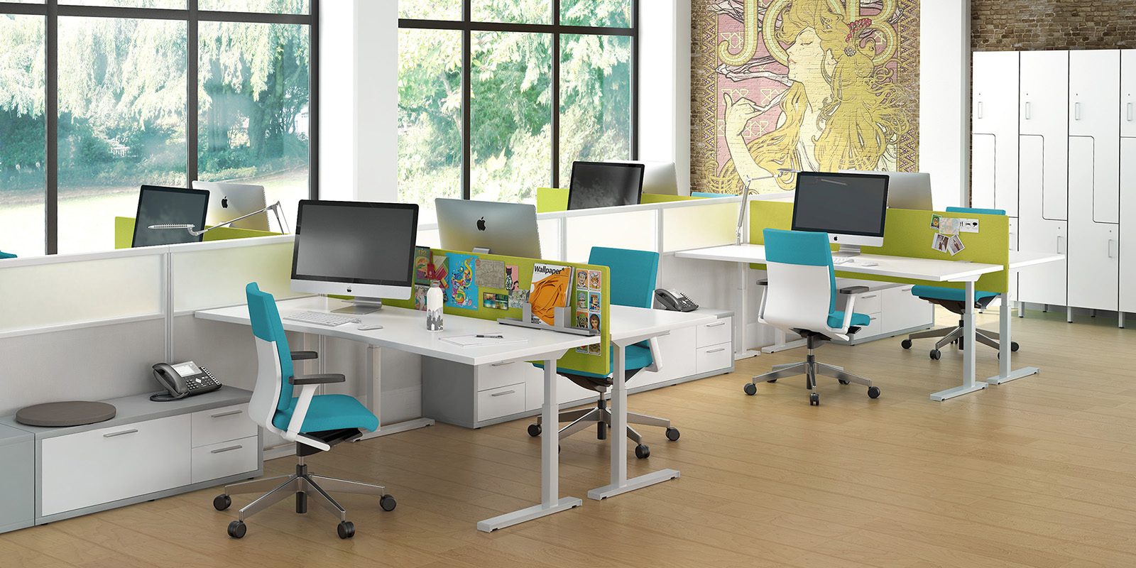innovative office furniture. Seven Modular Office Innovative Furniture A