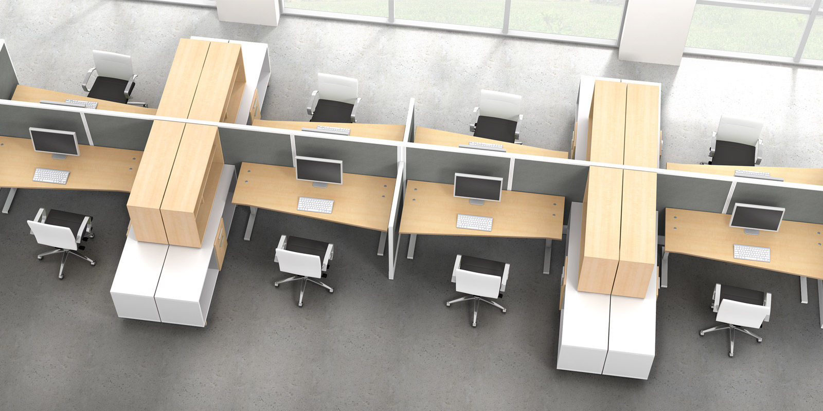 Wow watson seven office furniture enhance your open for Open design furniture