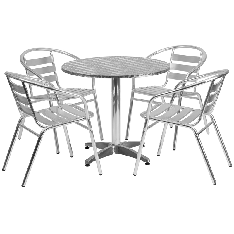 Aluminum Tables & Chairs