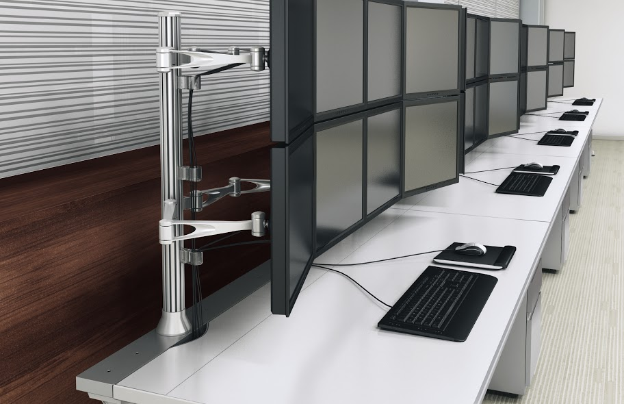 Mayline TransAction Single-Side Workstations