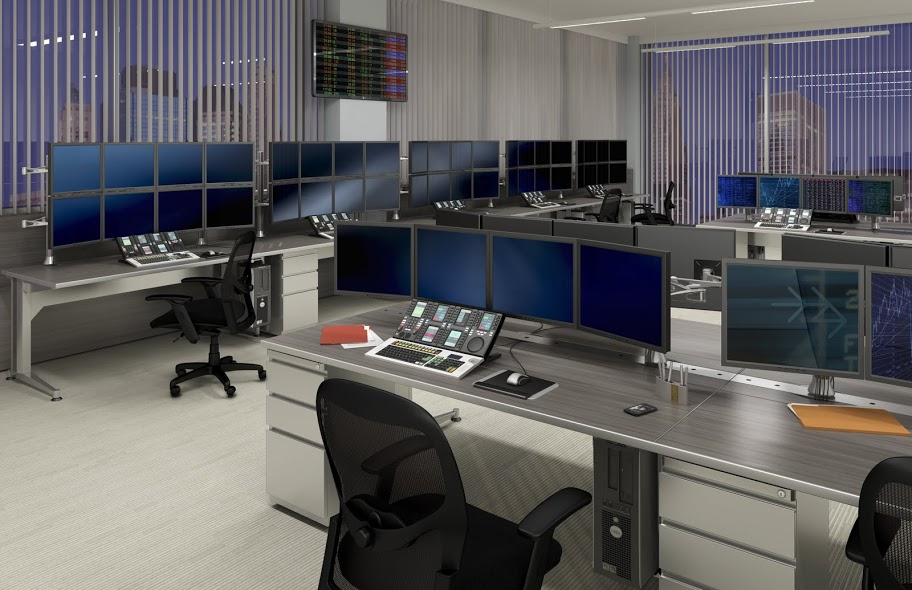 Mayline TransAction Workstations