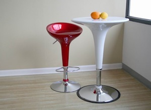 Tulip Bar Stools and Table