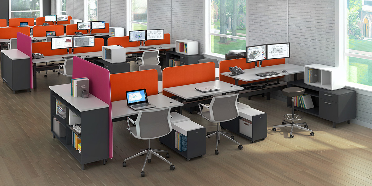 modern office furniture - bahn - a comprehensive offering of open