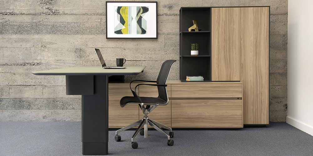 Watson Tia Height-Adjustable Private Office