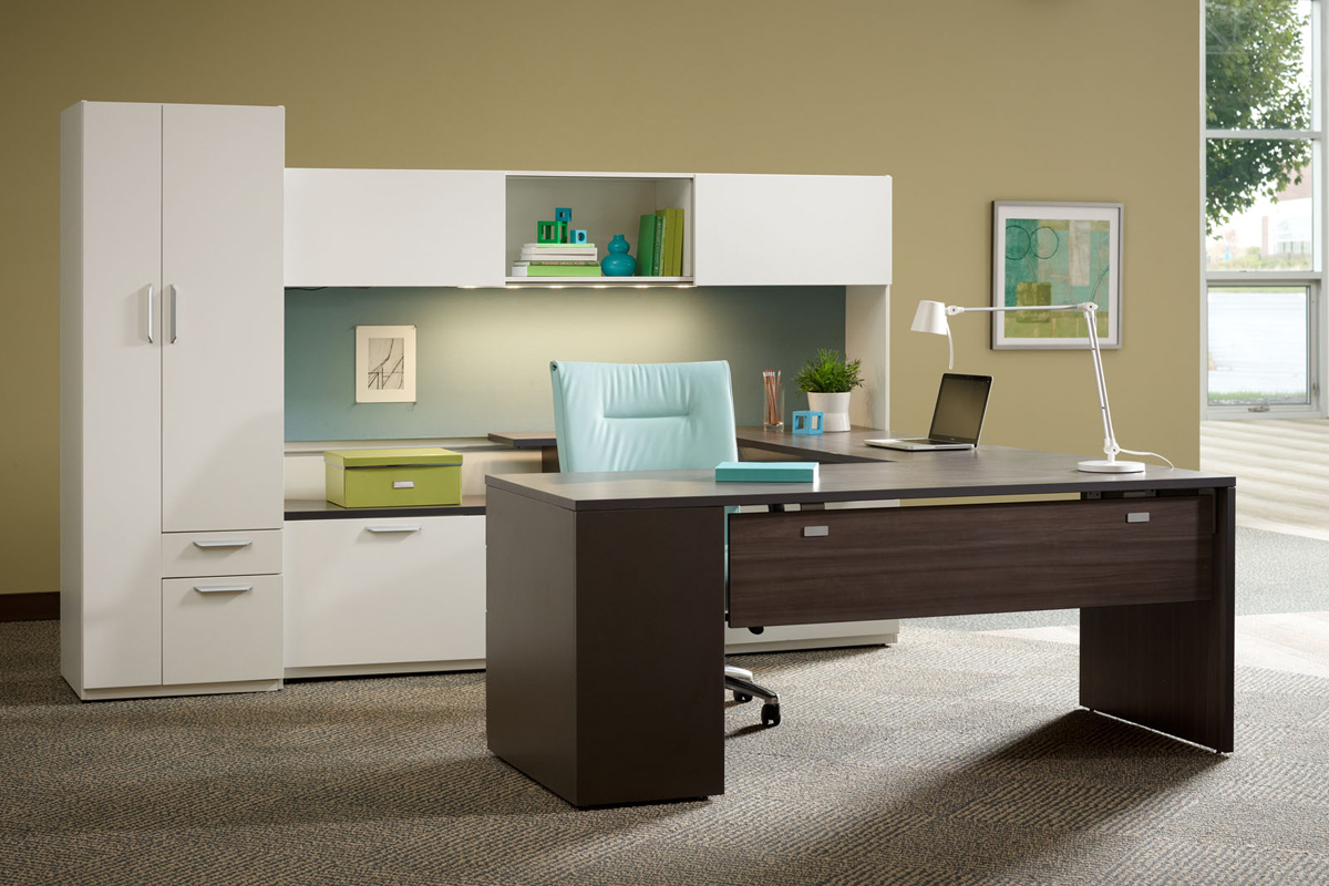 abco office furniture - keel private office