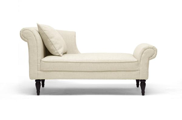 Lucille Linen Chaise Lounge It Is Time To Recline Relax Reflect