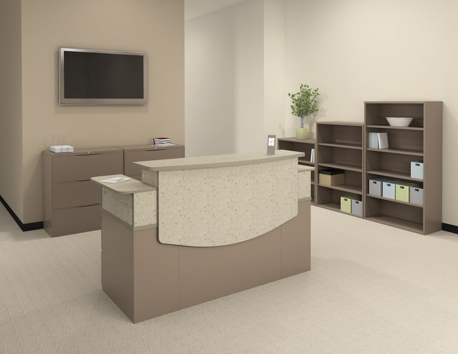 office furniture reception desk counter. Mayline CSII Reception Desk Office Furniture Reception Desk Counter C