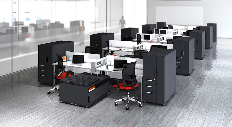 Mayline 35 Workstations