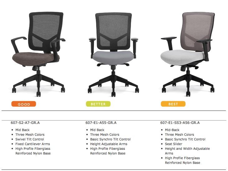Merveilleux Highmark Bolero Chairs