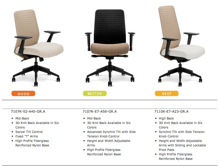 Highmark HB Chairs