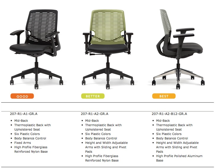 Highmark Intouch Office Chairs