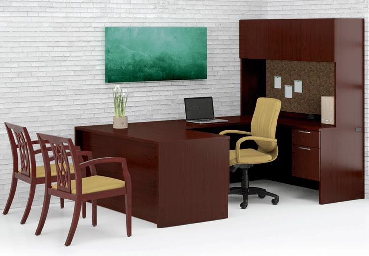 paoli kindle office furniture - l-shape desks