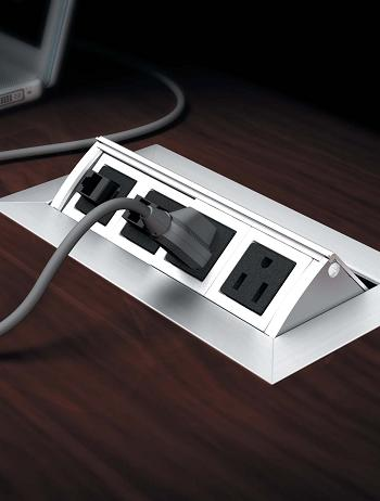 Conference Table Power Data Video Modules Enhance Your