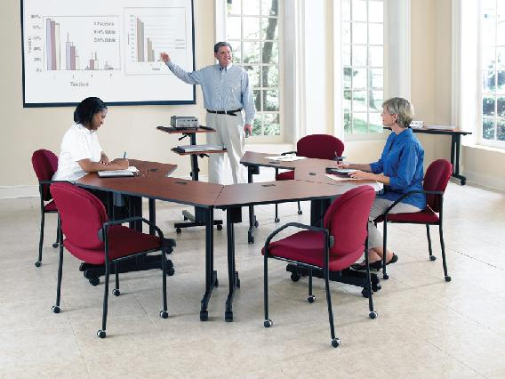 WoW OFM Meeting And Training Tables Enhance Your Learning Spaces - Ofm training table