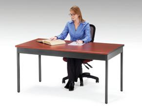 Its Bull Nose Edges And Hi Pressure Laminate Tabletop Will Complement Any  Office Or School Decor. It Is Both Strong And Sturdy, With 16 Gauge Steel  And ...