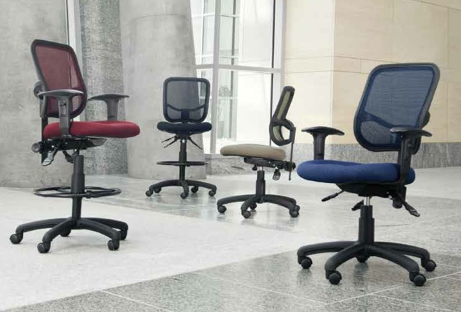 OFM Mesh Comfort Series Chairs