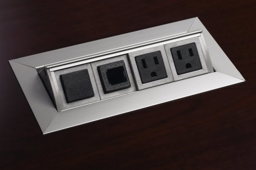 Discount Office Furniture Conference Table Power Module - Conference table power hub