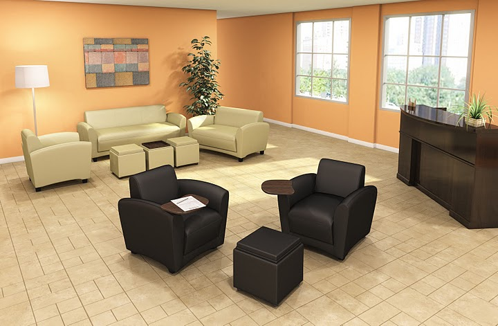 Mayline Aspire Leather Office Seating