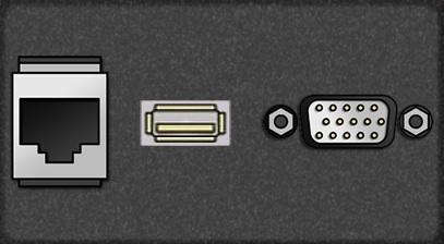 Telecom Panel HDMI Connector