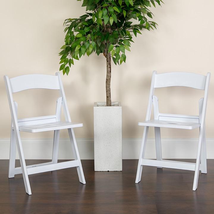 Strange Big Tall Folding Chair Hercules 1000 Lb Rated White Resin Dailytribune Chair Design For Home Dailytribuneorg