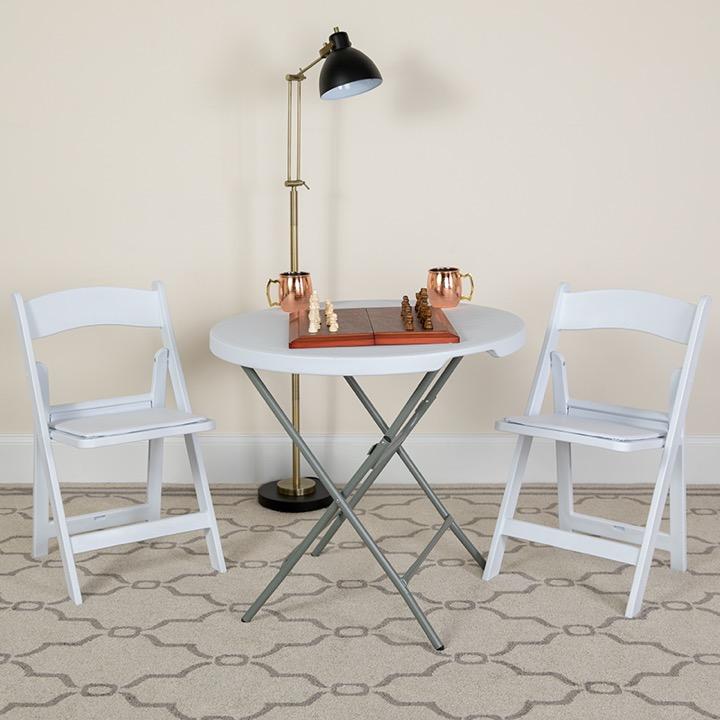 Prime Big Tall Folding Chair Hercules 1000 Lb Rated White Resin Creativecarmelina Interior Chair Design Creativecarmelinacom